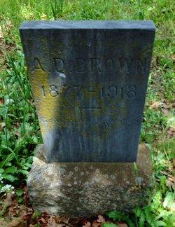 A. D. Brown