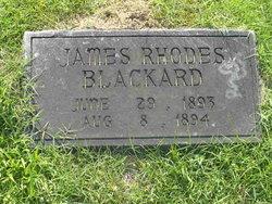 James Rhodes Blackard