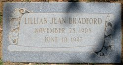 Lillian Jean Bradford