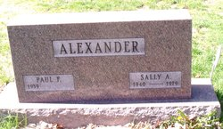 Sally <i>Johnston</i> Alexander