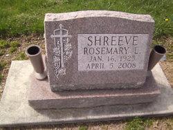 Rosemary L. <i>Stroube</i> Shreeve