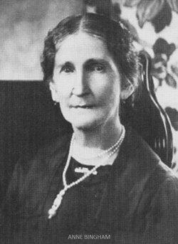 Anne Elizabeth <i>Northrop</i> Bingham