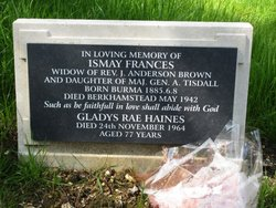 Ismay Frances <i>Tisdall</i> Brown