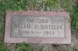 Sallie D. <i>Hickman</i> Botzler