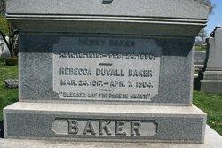 Rebecca <i>Duvall</i> Baker