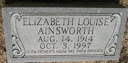 Elizabeth Louise <i>Perry</i> Ainsworth