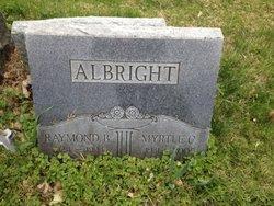 Myrtle C <i>Griffin</i> Albright