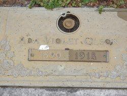 Ada Violet <i>Laws</i> Olson