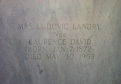Laurence <i>David</i> Landry