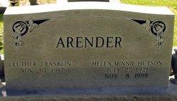 Helen Minnie <i>Hutson</i> Arender