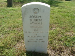 Joseph Ruben Adams