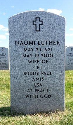 Naomi Luther <i>Capshaw</i> Amis