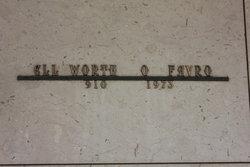 Ellsworth O Favro