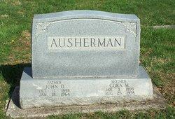 Cora Mae <i>Harbaugh</i> Ausherman