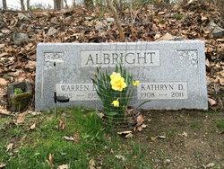 Kathryn D. <i>Parson</i> Albright
