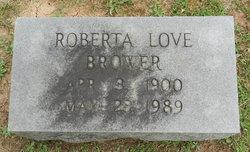 Katherine Roberta <i>Love</i> Brower