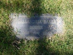 Cassandria <i>Patterson</i> Baker