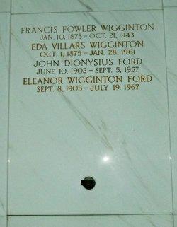 Eleanor <i>Wiggington</i> Ford