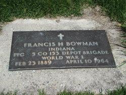 Francis Harrison Frank Bowman