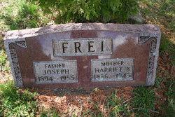 Harriet B Hattie <i>Peaslee</i> Frei