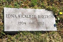 Edna <i>Wickliffe</i> Bartron
