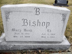Mary <i>Bond</i> Bishop
