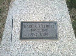 Martha K. <i>Stryker</i> Lemons