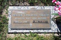 Flora Hester <i>Childers</i> Fuller