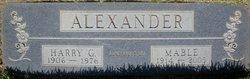 Mable <i>Mercer</i> Alexander