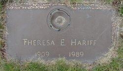 Theresa E <i>Kienzle</i> Hariff