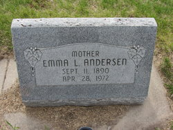 Emma Louise <i>Beckman</i> Anderson