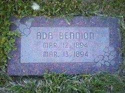 Ada Bennion