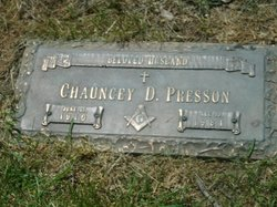 Chauncey D Presson