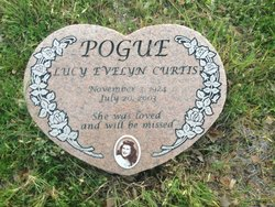 Lucy Evelyn <i>Curtis</i> Pogue