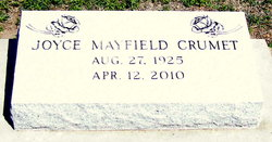 Joyce Ann <i>Mayfield</i> Crumet
