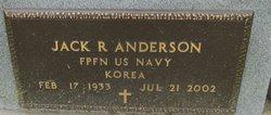 Jack R Anderson