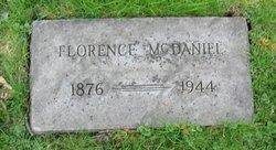 Mrs Florence L. <i>Clingman</i> McDaniel