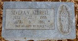 Severa <i>Valdez</i> Aldrete