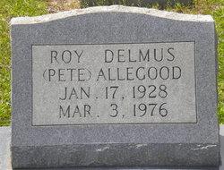 Roy Delmus Pete Allegood