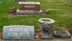 Carrie Ellen <i>(Greenhow)</i> Hyser