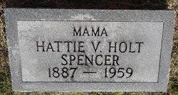 Hattie V <i>Holt</i> Spencer