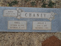 Jessie Maxie Odell Chaney