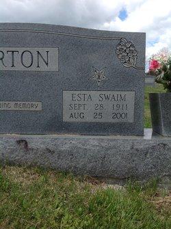 Esta <i>Swain</i> Barton