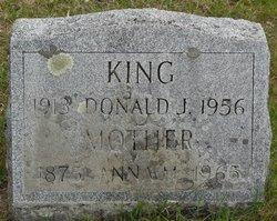 Donald J King