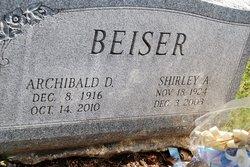 Shirley A Beiser