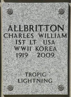 Charles William Allbritton