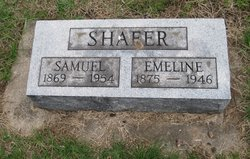 Emeline Ellen <i>Owens</i> Shafer