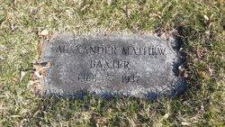 Alexander Mathew Baxter