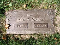 Jack A Mahar