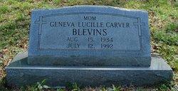 Geneva Lucille <i>Carver</i> Blevins